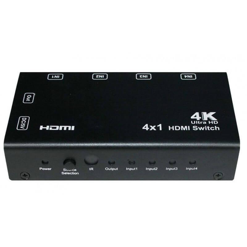 HDMI свитч 4х1