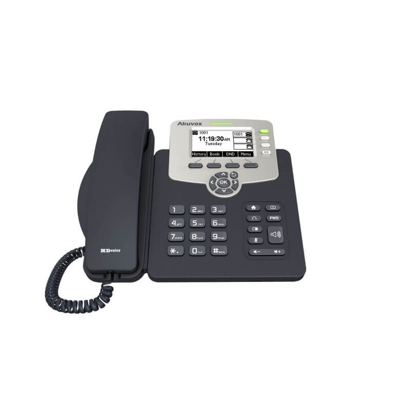 SIP-телефон Akuvox SP-R53P (3 SIP аккаунта)