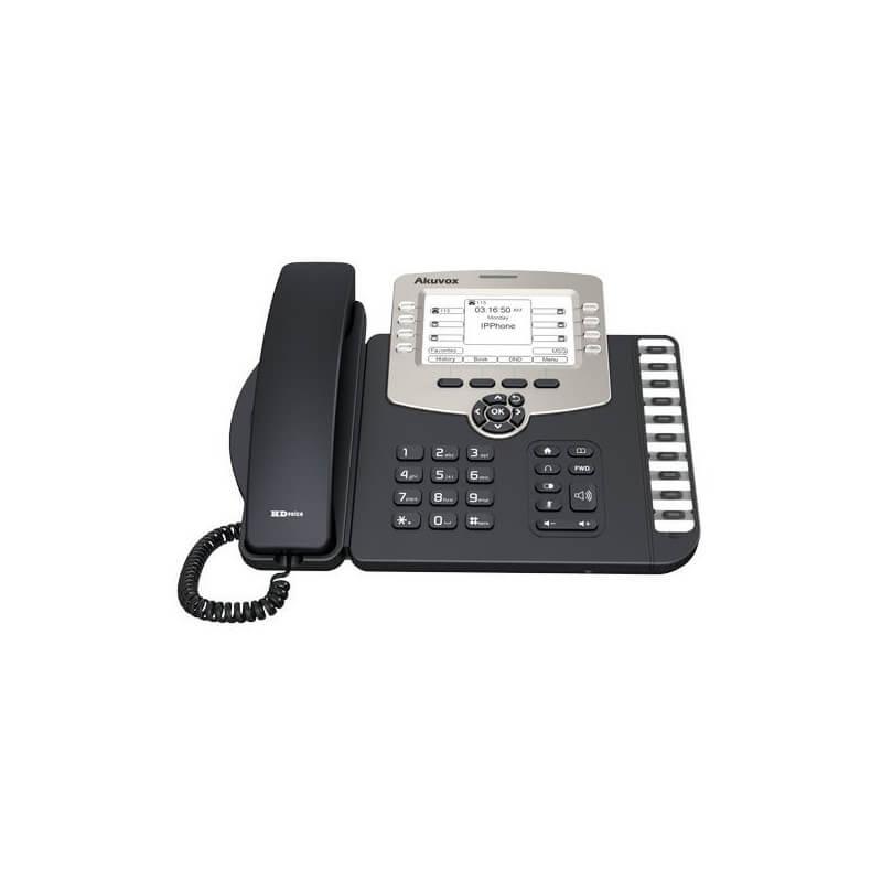 SIP-телефон Akuvox SP-R59P (6 SIP Аккаунтов)