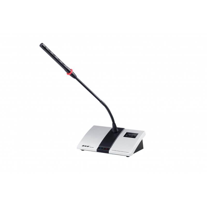Микрофонный пульт председателя беспроводной BKR WCS-203C Silver