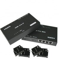 SX-EX23-TX Ретранслятор HDMI сигнала через TCP/IP RJ45 (4 порта)