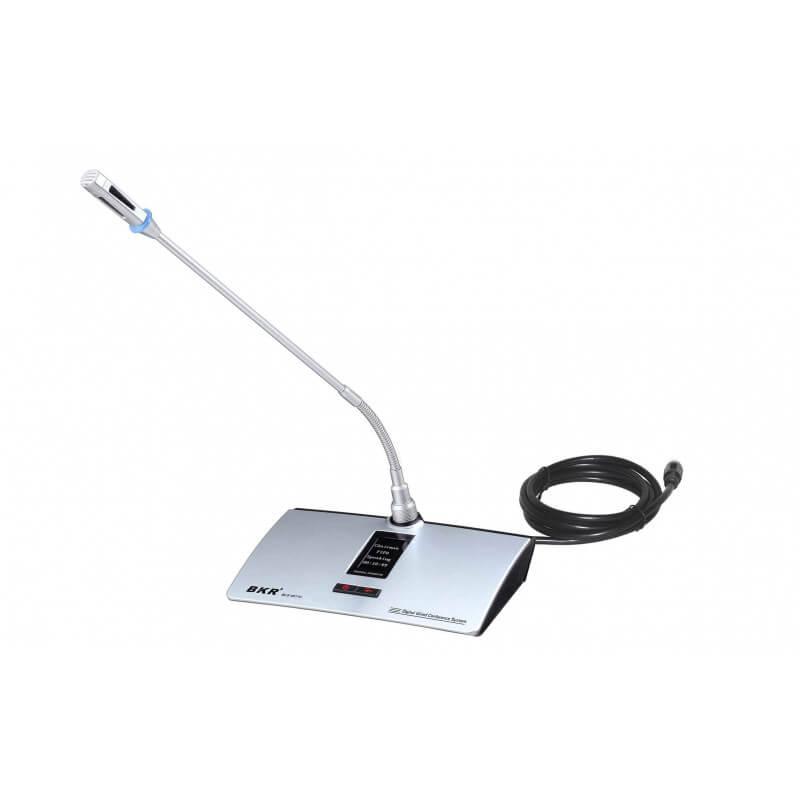 Микрофонный пульт председателя BKR BLS-4511C Silver
