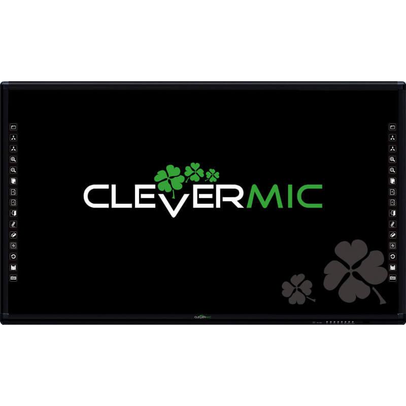 """Интерактивная панель CleverMic CT86 (4K 86"""", емкостной сенсор)"""