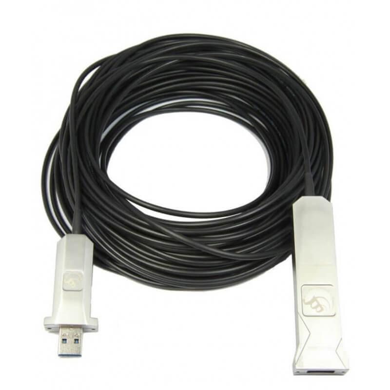 Кабель 30м USB 3.0 CleverMic Hybrid Cable 43