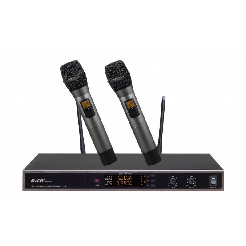 Радиомикрофоны BKR KX-D3912 (два ручных)