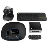 Набор для организации видеоконференции Logitech GROUP WITH INTEL NUC