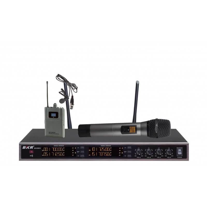 Радиомикрофоны BKR KX-D3914 (два ручных и два петличных)