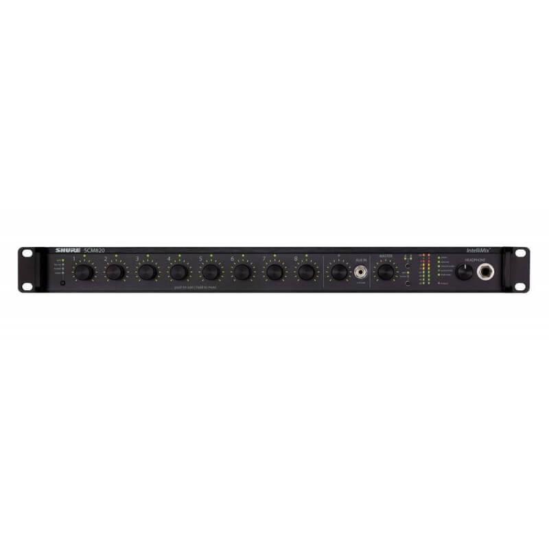 Аудиомикшер SHURE SCM820E-DB25