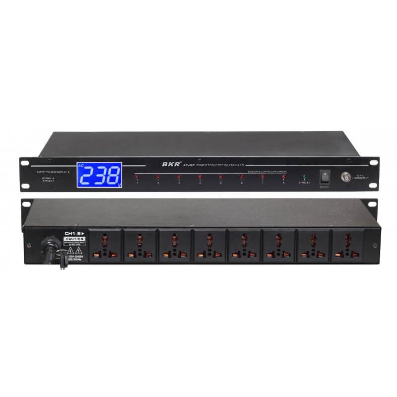 Контроллер последовательности питания BKR AC-08P