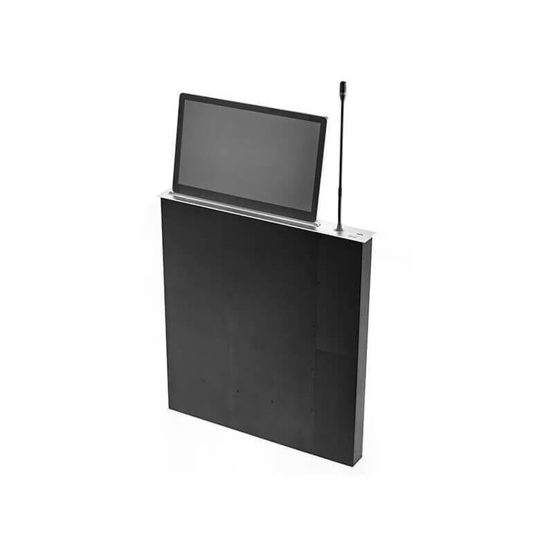 """Выдвижной монитор CleverMic ML17MTS (FullHD, сенсорный, микрофон, 17,3"""")"""