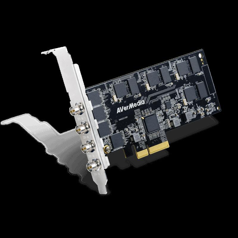 Купить Карта захвата AVerMedia 4-CH SDI Full HD HW H.264 PCIe Frame ...