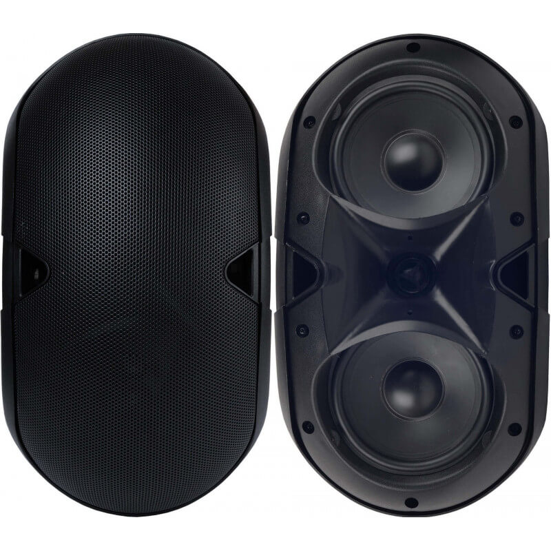 Настенная акустика CleverMic HYB128-6T (черный, пассивная)