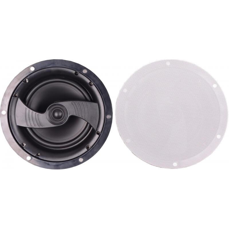 Потолочная встраиваемая акустика CleverMic HSR178-8C (белый, пассивная)