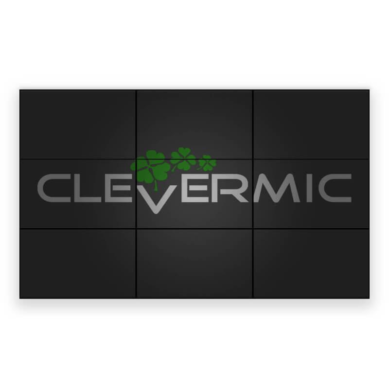 """Видеостена 3x3 CleverMic W46-3.5 (FullHD 138"""")"""