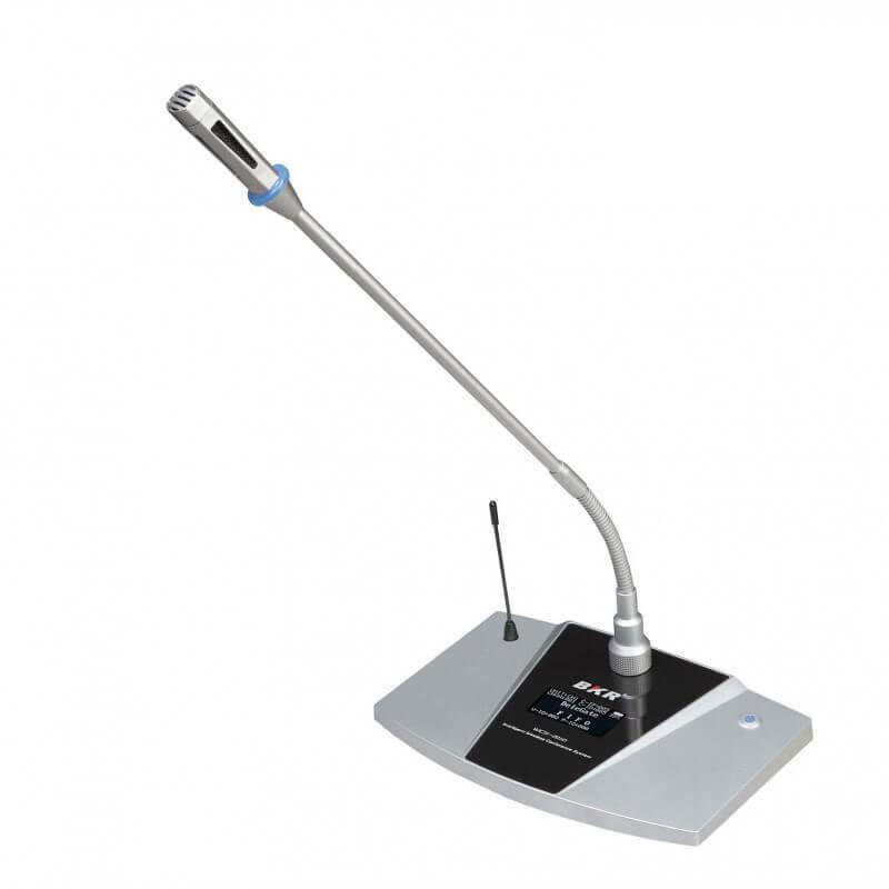 Микрофонный пульт делегата беспроводной BKR WCS-201D Silver
