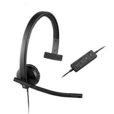 Гарнитура Logitech USB mono H570e