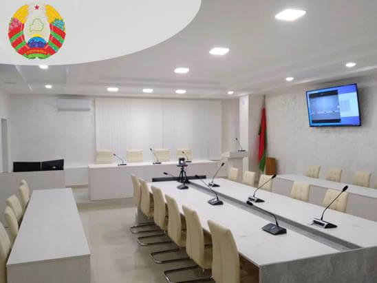 Конференц-зал для Главного управления здравоохранения Гомельского облисполкома