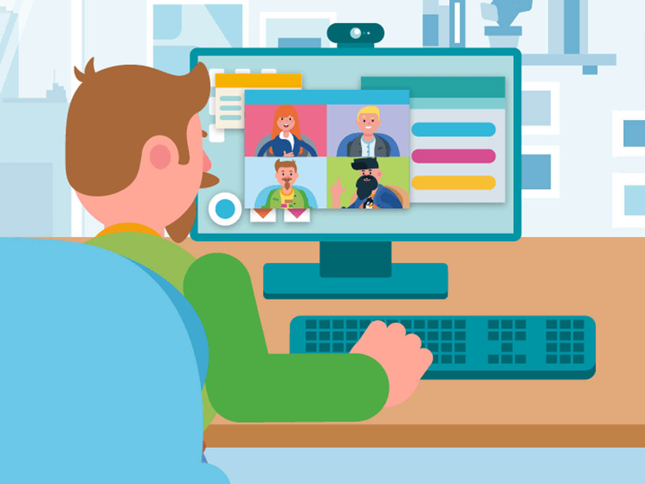 Обучающий вебинар о системе видеосвязи TrueConf