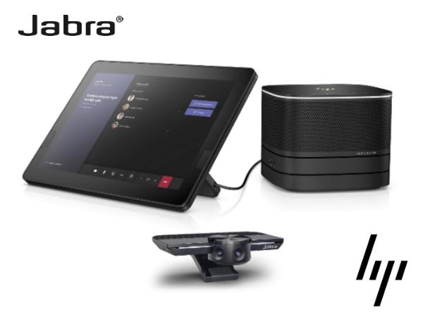 Jabra & HP анонсировали два комплекта AV-оборудования для переговорных комнат