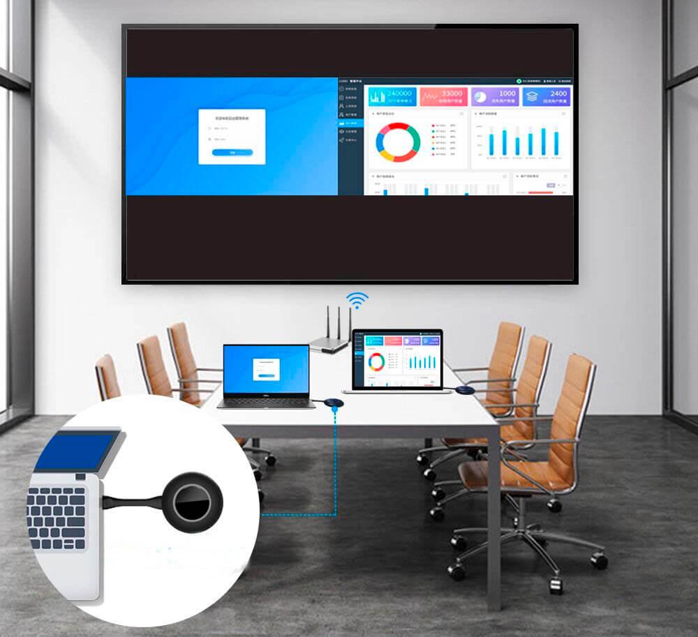 Беспроводная система для презентаций TrueConf Share