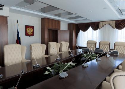 Автоматизированные переговорные комнаты