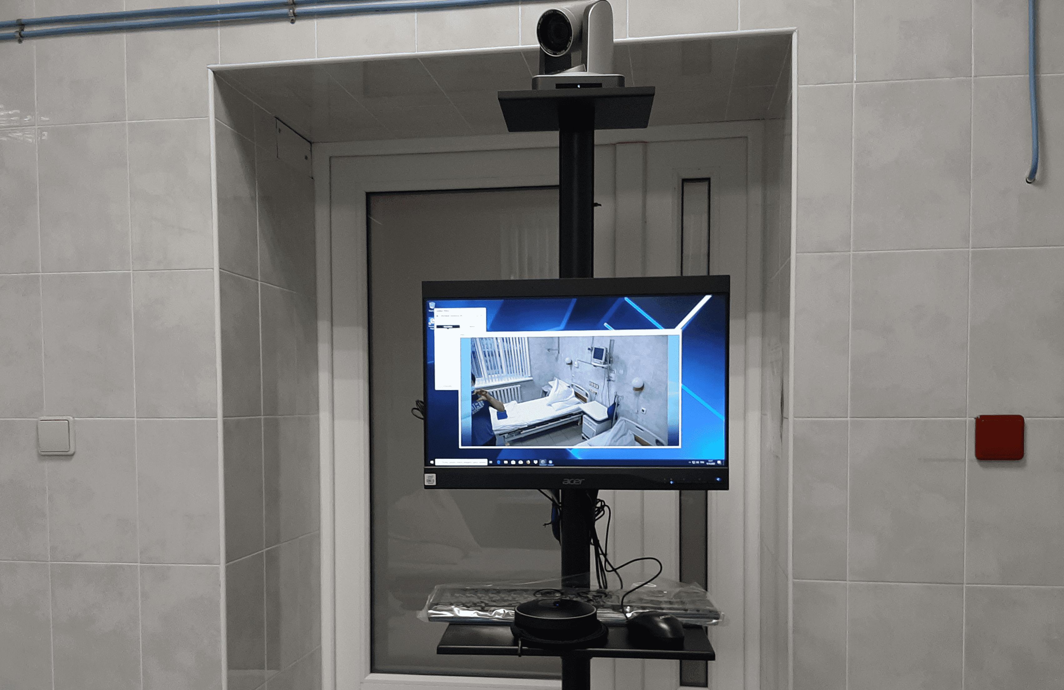 Спикерфон в составе программно-аппаратного видеотерминала
