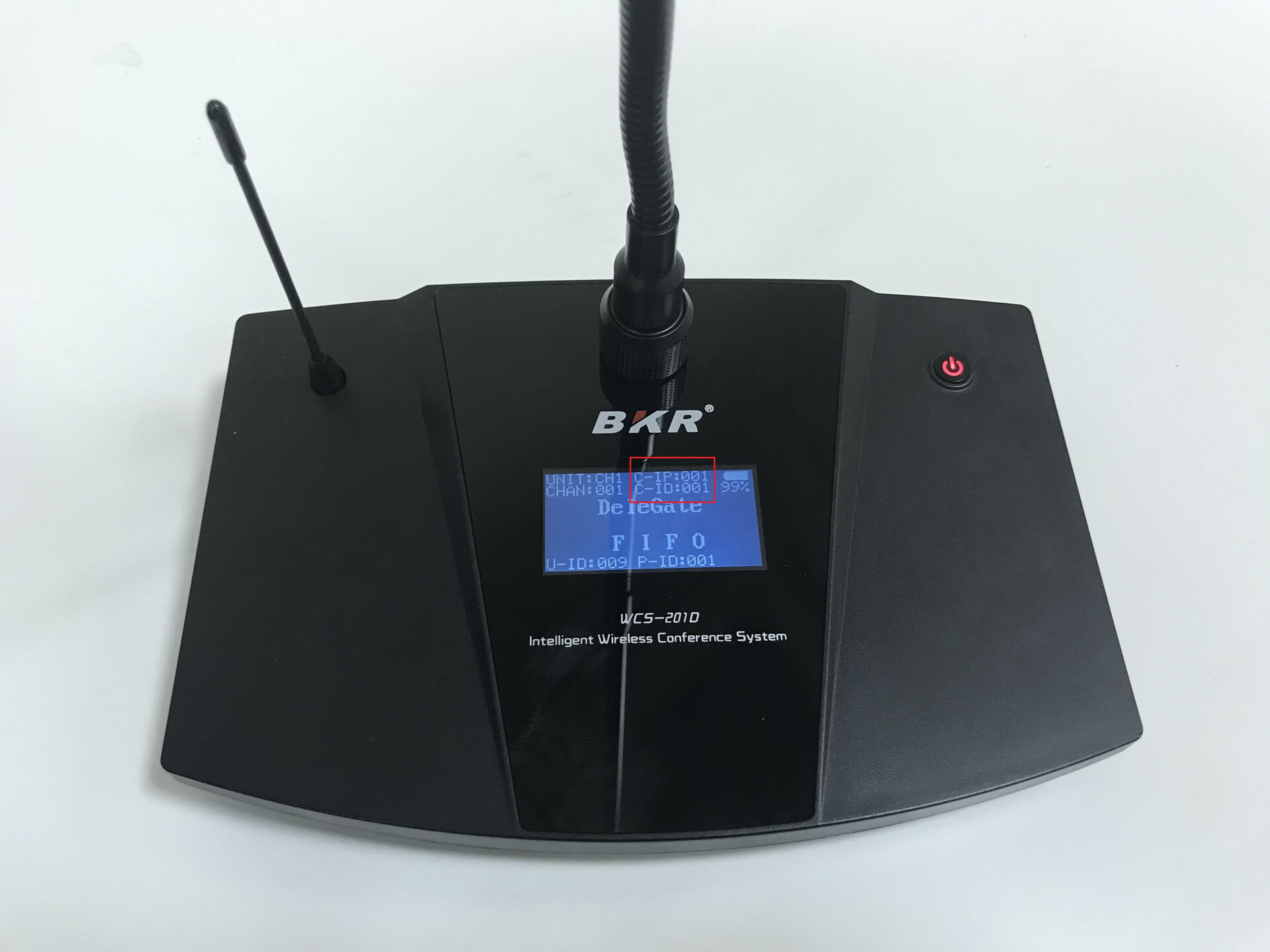 микрофонный пульт BKR