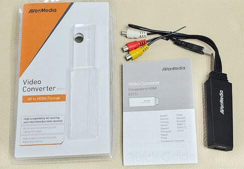 Комплект поставки AVerMedia ET111