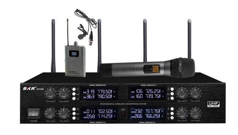 Радиомикрофоны BKR KX-D3880HB