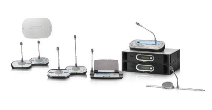 Беспроводная цифровая конгресс-система Bosch DCN Next Generation