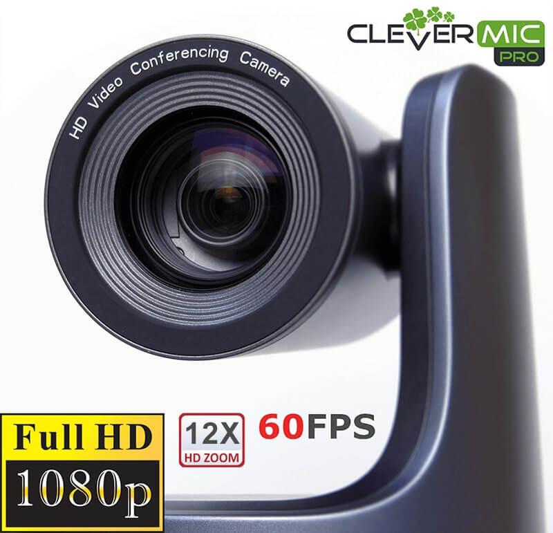 PTZ-камера CleverMic Pro HD PTZ HUSL 12 (20x, HDMI, LAN, SDI, USB3.0)-1