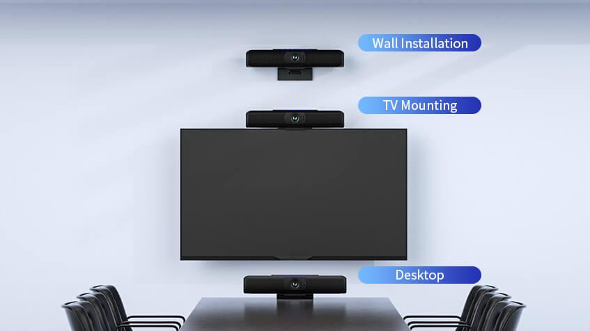 Видеобар FHD с микрофонными массивами