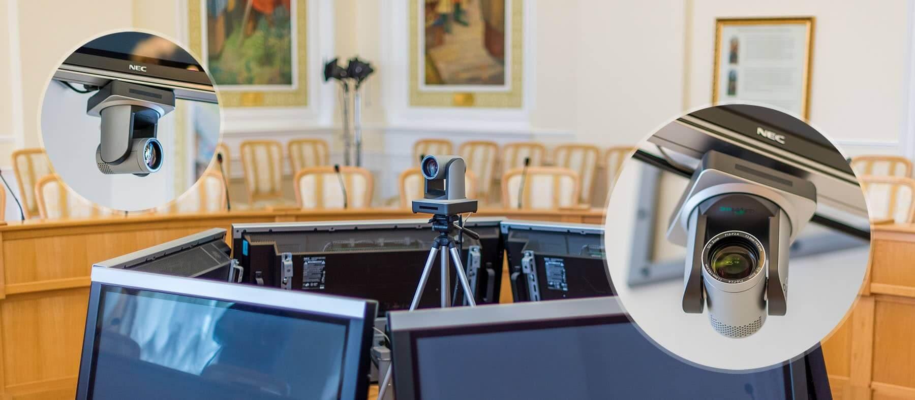 PTZ-камера CleverMic 1011NDI-5 (FullHD, 5x, SDI, HDMI, LAN)