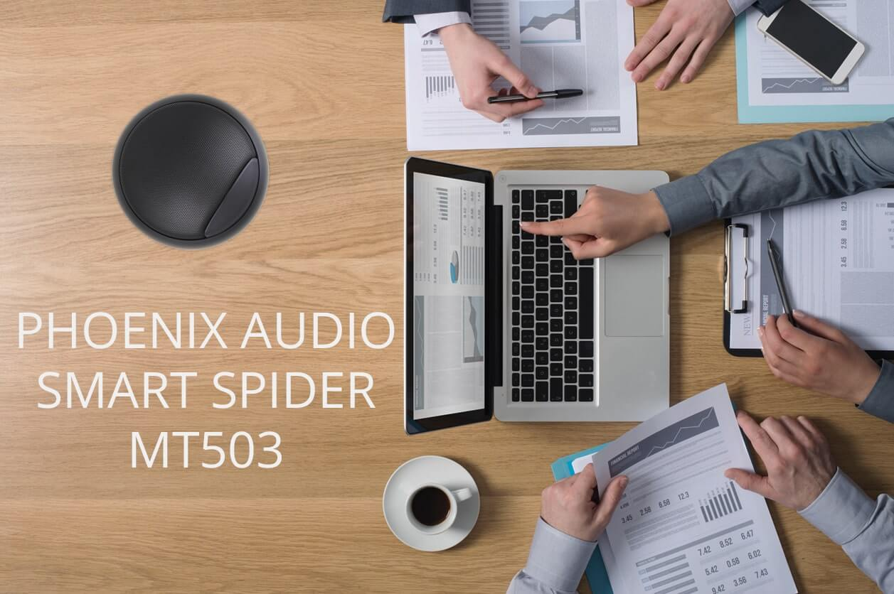 Спикерфон Phoenix Audio Spider (MT503-W) white