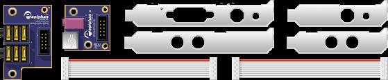 Комплект поставки DVI2PCIe AV Kit