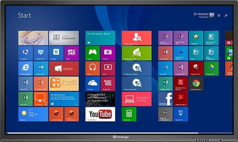 Интерактивная панель Prestigio MultiBoard 55_1