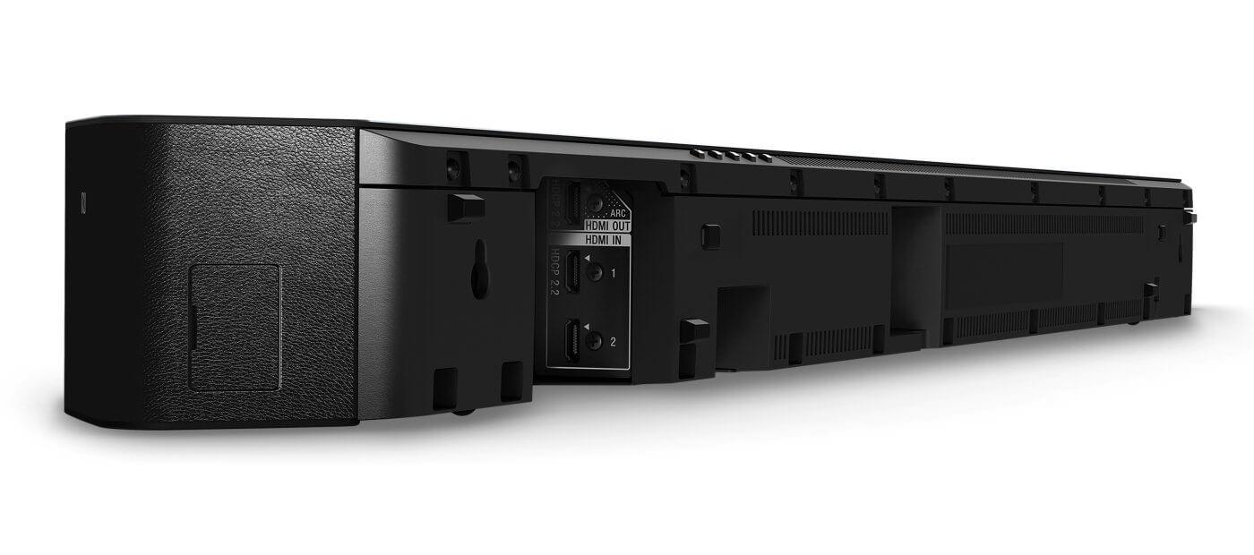 Саундбар Yamaha YSP-2700 задняя панель