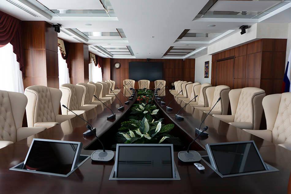 Конференц-зал любого масштаба и назначения